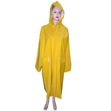 Damas amarillo impermeable de PVC