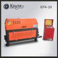 GT4-10 Hydraulischer Stahlstangenstrecker und -schneider, Rebarrichtungs- und -schneidemaschine