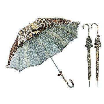 Tierhaut Designs gerade Kuppel Spitze Regenschirm (YS-SA23083908R)