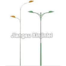 Poteaux d'éclairage double bras support Street