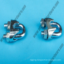 DIN741 Wire Rope Accessories/High Quality Electro-Galvanized Steel Wire Rope Clip
