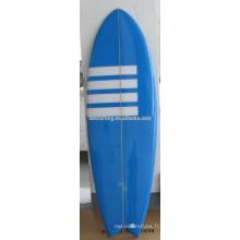 2014 vente chaude PU planche de surf / fibergalss court panneau de mousse