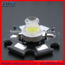 3w white hi-power led with pcb