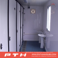 Flat Pack Container House as Prefabricated Toilet