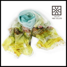 hot selling digital print custom design chinese silk scarf
