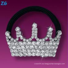 La venda francesa cristalina llena elegante del pelo, venda cristalina del pelo de las señoras, venda del pelo de la corona de la joyería