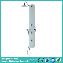 Painel de chuveiro de design de moda com chuveiro superior (LT-B734)