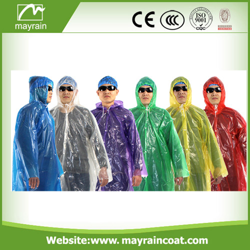PE Raincoat for Man