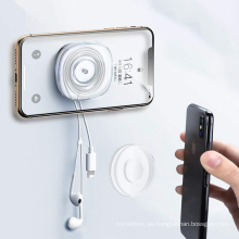 Soporte para teléfono pegajoso almohadilla de gel anti gravedad nano