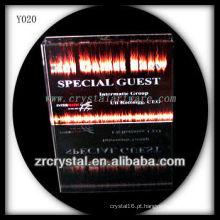 Cristal de foto colorida impressão Y020