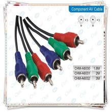 3 RCA - 3 RCA кабель для аудио AV.