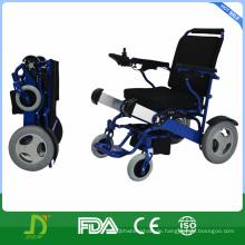 Kleine tragbare Kraft Rollstuhl