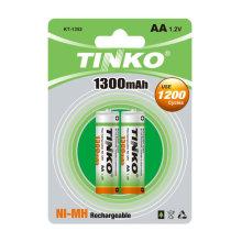 NI-MH rechargeable battery AA 1300MAH