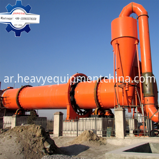 Rotary Dryer For Sand
