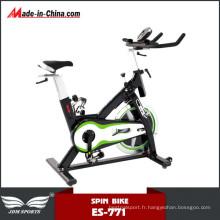 Vélo de spinning de roue lourde de gymnase d'intérieur de gymnase pour la forme physique