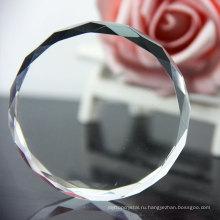 Бесплатный образец прозрачный акриловый пресс-папье/ прозрачный кристалл вес бумаги