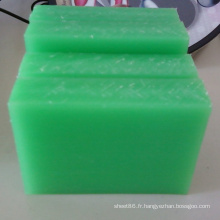 De Bonne Qualité Feuille / panneau en plastique vert de polypropylène de pp