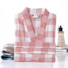 Custom kimono style cotton hotel bath robe