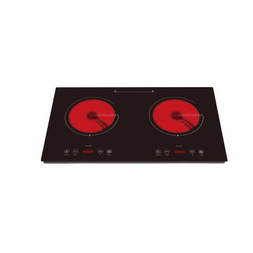 CB CE Approved Tabletop Double Burners Ceramic Hob Sm-Dic06A