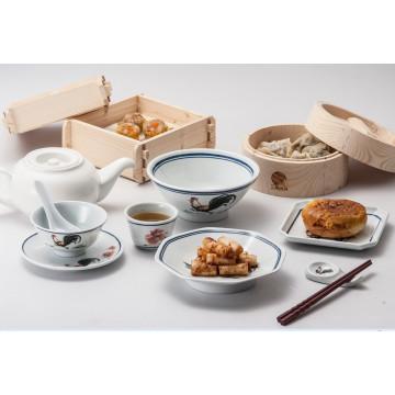 Меламин Рамен чаша/100%меламина посуда /лапши чаша (QQ15808-06)