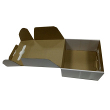 OEM White Matte Laminating Packaging Corrugated Box