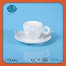 ceramic espresso cup and saucers,personalized cup and saucer,tea cup,Espresso Cup with Plate