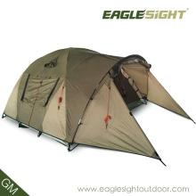 Reise-Campingzelt-Licht, das für ein Mann-wanderndes Zelt faltet