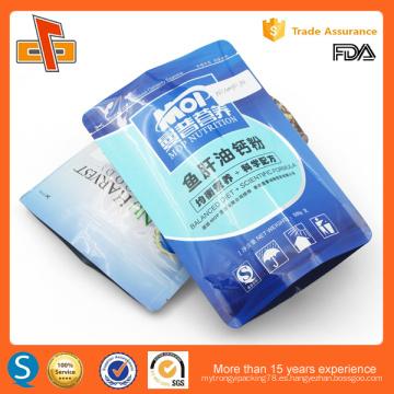 Bolso de aluminio laminado de la impresión del alimento laminado
