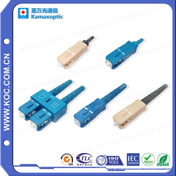Sc Conector 0.9 / 2.0 / 3.0 de Alta Qualidade De Fibra Óptica Sc Connector
