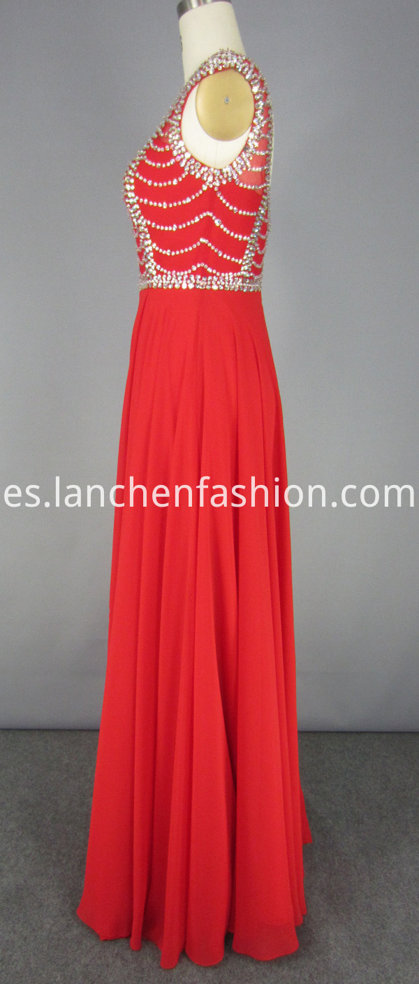 Chiffon Dress Long