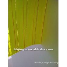 cortina de PVC transparente anti-inseto com nervuras