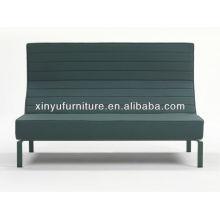 Stripe leather high back sofa XY0721