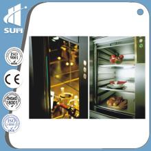 Kapazität 200kg Geschwindigkeit 0.4m / S Küche mit Dumbwaiter