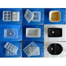 Caixa plástica descartável do empacotamento de alimento para o alimento e marisco congelados