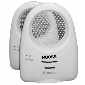 Audio Baby Monitor with Up to 1000ft Range