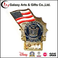 Высокое Качество Американский 911 Событие Значок Булавки/ Золотые Значки /Металл Безопасности Значки