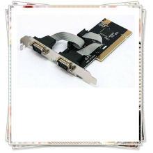 Pci novo para cartão serial suporte RS-232 controle de fluxo de hardware