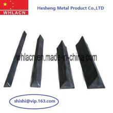Chanfrein en acier de triangle de béton préfabriqué de matériel de construction (10X10)