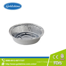 Casserole en aluminium ronde d'utilisation de cuisine