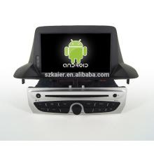 7''car reproductor de dvd, fábrica directamente! Quad core, GPS, DVD, radio, bluetooth for2014Megane