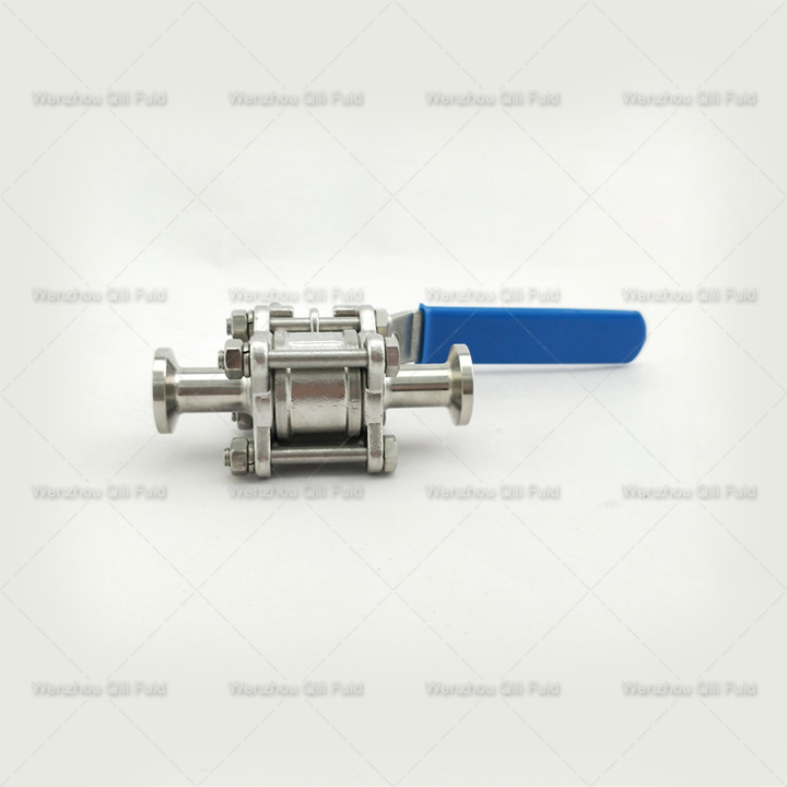 Clamped 3pcs Ball Valve x (5)