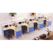 Good quality mobile office workstation for 4 people