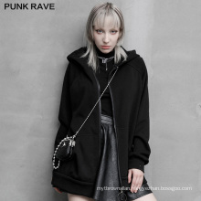 PUNK RAVE OPY-494XCF girls sexy dar series new design women casual loose plus size long sleeve coat