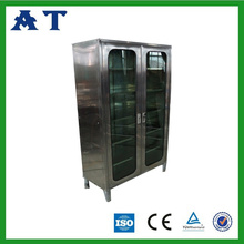 Stainless steel medical cupboard