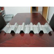 ondulé de plancher en acier galvanisé, platelage tôle