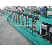 Máquina de formação de rolo de metal com uso frio de tipo C / Z