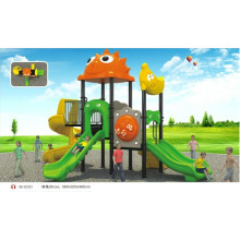 EN1176 approved B10203 Cartoon Outdoor Plastic Playground