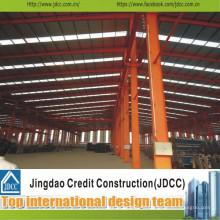 Atelier préfabriqué de grande structure en acier de grande qualité