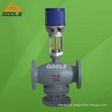 Válvula de controle de mistura elétrica de 3 vias (3 vias) (GAZDLX)
