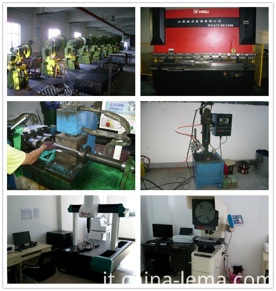 Stamping equipment and QC control